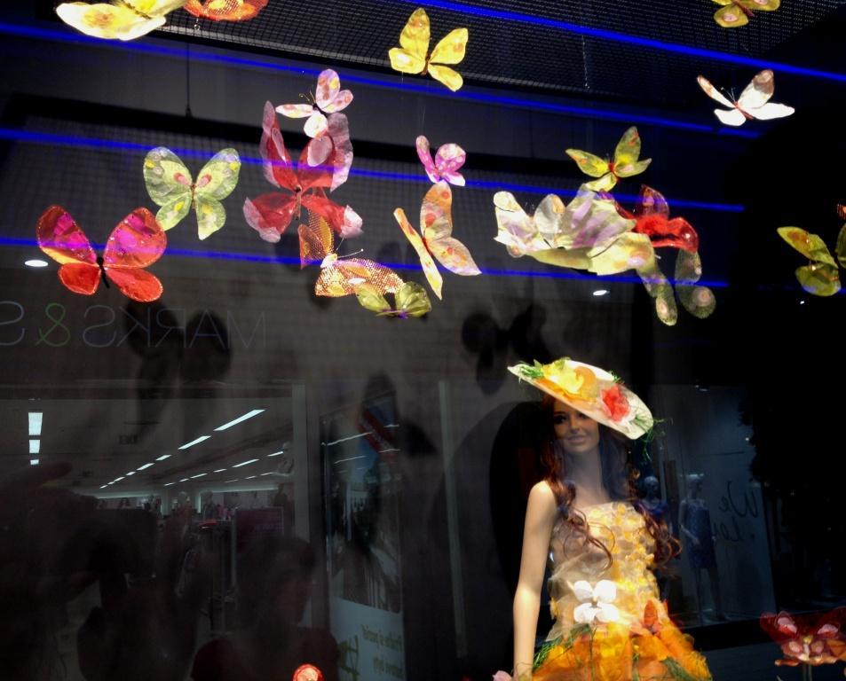 takéto motýle tam lietali na deň detí
